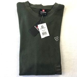 SOUTH POLE Olive Green Long Sleeve Thermal Shirt